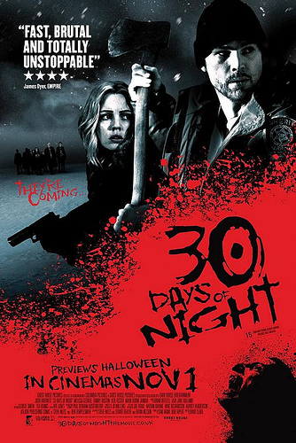 Otro póster de 30 Days of Night